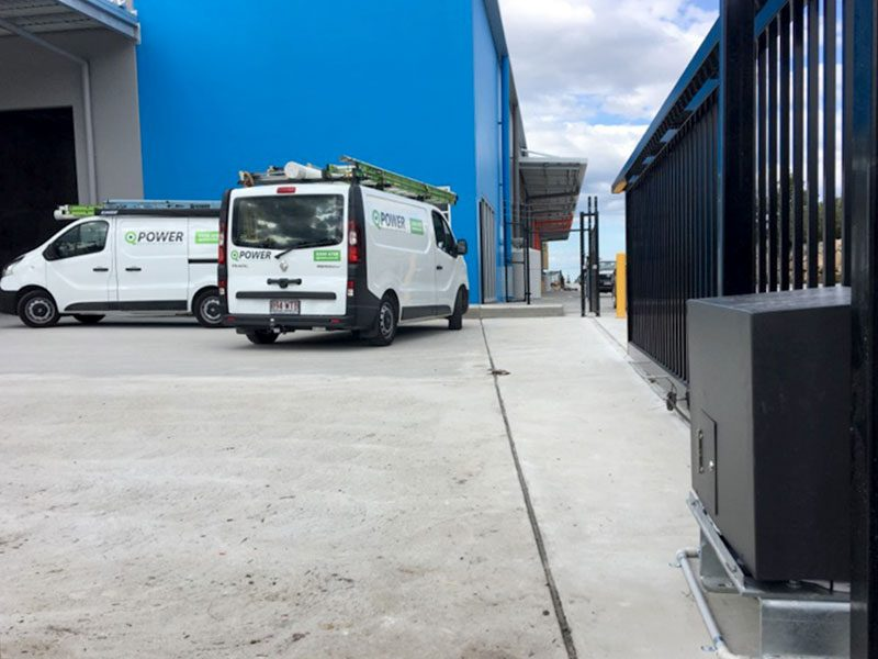 Our technicians supply and install an automatic gate in Brisbane